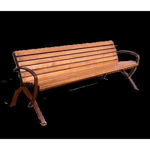 Металлические парковые скамейки