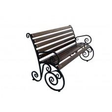 Садово-парковая скамейка Вдохновение 1,5 м.