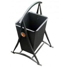 Металлическая урна для мусора Бульвар