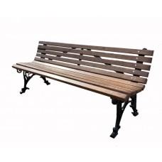 Скамейка чугунная Эллада 3 м