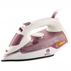 Утюг электрический 2000 Вт ВАСИЛИСА У4-2000 белый с темно-розовым