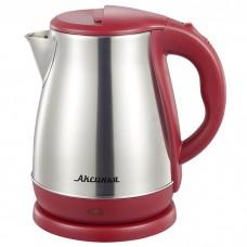 Чайник электрический 2000 Вт, 1,8 л АКСИНЬЯ КС-1050 бордовый