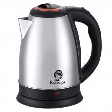 Чайник электрический 2000 Вт, 1.8 л ВАСИЛИСА Т30-2000 черный c коралловой вставкой