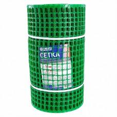 Сетка садовая пластиковая квадратная 20х20мм, 0,5х20м Гидроагрегат Премиум