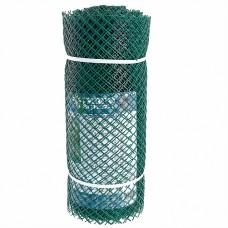 Сетка садовая пластиковая ромбическая 15x15мм, 0,5x20м Гидроагрегат