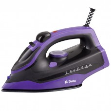 Утюг электрический 2400 Вт DELTA DL-353 черный с фиолетовым
