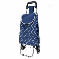 Тележка багажная ручная 30 кг DT-25 темно-синяя