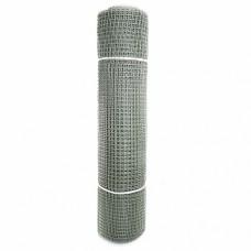 Сетка садовая пластиковая квадратная ПРОФИ 15x15мм, 1x20м, серая