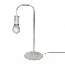 Настольная лампа лофт белая российского производства ПЕТРАСВЕТ S5080-1