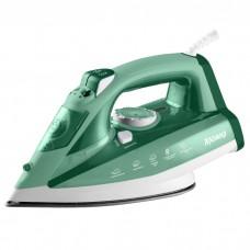 Утюг электрический 2400 Вт ЯРОМИР ЯР-032 зеленый с белым