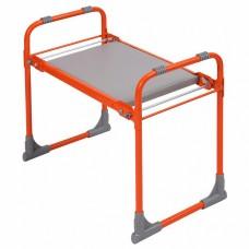Скамейка садовая перевертыш с мягким сиденьем СКМ/О оранжевая