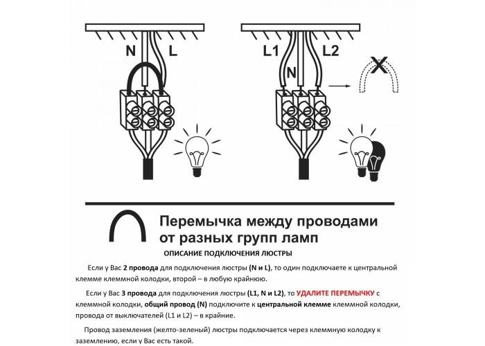 Люстра подвесная дизайнерская российского производства ПЕТРАСВЕТ S3128-5