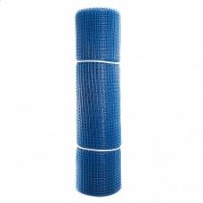 Сетка садовая пластиковая квадратная ПРОФИ 15x15мм, 1x20м, синяя