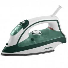 Утюг электрический 2400 Вт АКСИНЬЯ КС-3002 белый с зеленым