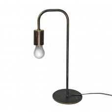 Настольная лампа лофт черная российского производства ПЕТРАСВЕТ S5079-1