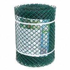 Сетка садовая пластиковая ромбическая 15x15мм, 0,3x20м Гидроагрегат