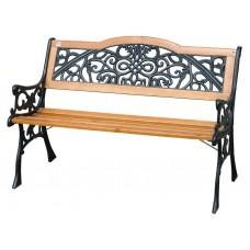 Скамейка садовая Арабеска чугунная