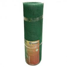Сетка садовая пластиковая квадратная Гидроагрегат Премиум 15x15мм, 1x20м, зеленая