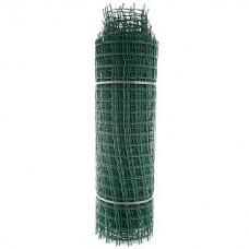 Сетка садовая пластиковая квадратная ПРОФИ 50x50мм, 1x20м, зеленая