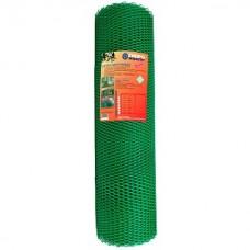 Сетка садовая пластиковая ромбическая Гидроагрегат 17x17мм, 0.9x20м, зеленая