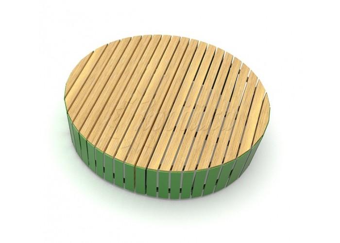 Модульная скамейка «Экополис Комби-5»