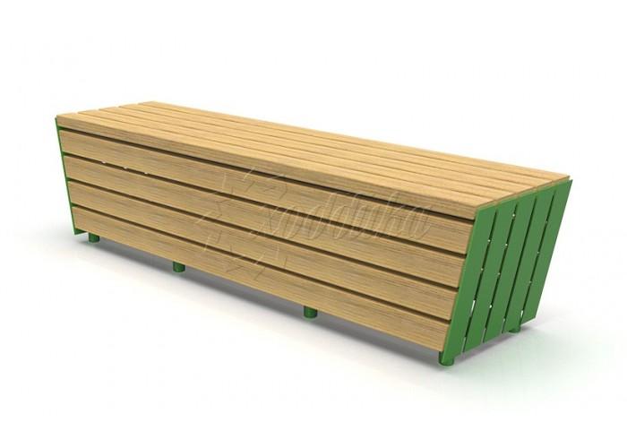 Модульная скамейка «Экополис-2»