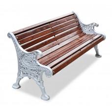 Скамейка алюминиевая «Ажурная»