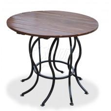 Стол круглый садовый «Восемь ног»