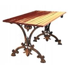 Чугунный стол «Аллея»