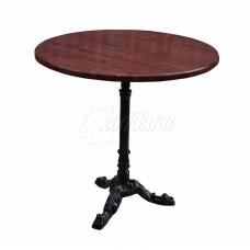 Чугунный стол «Кафе»
