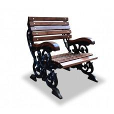 Кресло чугунное «Флора»