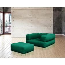 Кресло КУБИС БОСТОН темно-зелёный