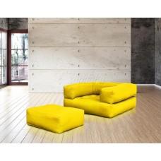 Кресло КУБИС БОСТОН желтый