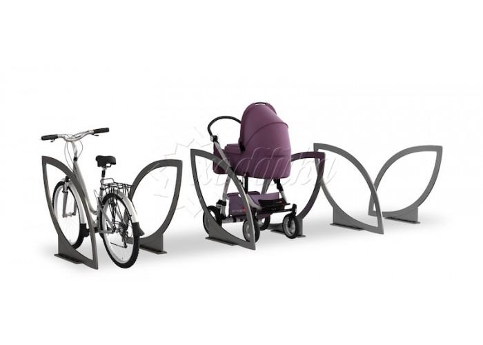 Парковка для колясок и велосипедов 02