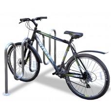 Велопарковка «Комби-77» из нержавеющей стали