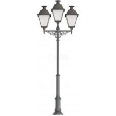 Фонарь уличный «Адмирал - 3» со светильниками