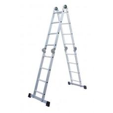 Лестница-трансформер SevenBerg QH-4х4 шарнирная четырехсекционная 940444