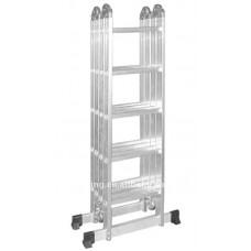 Лестница-трансформер SevenBerg QH-4х5 шарнирная четырехсекционная 940445