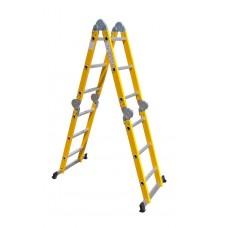 Лестница-трансформер SevenBerg 4х3 F диэлектрическая 140443