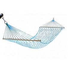 Гамак плетеный голубой 100 см.