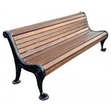 Чугунная парковая скамейка Бриз 2 м.