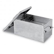 Коптильня Ольховый дым Классик 350х200х200 (толщина 2 мм, сталь 430)