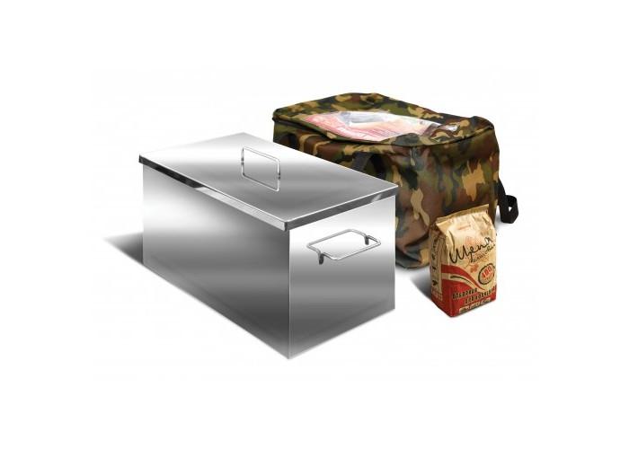 Коптильня Ольховый дым Классик 400х250х250 (толщина 2 мм сталь 430)
