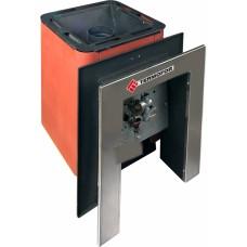 Печь банная Колибри 9У терракота (с возможностью применения газовой горелки+портал)